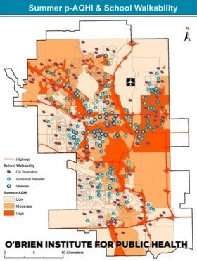 Environmental News Network University Of Calgary Researchers Map