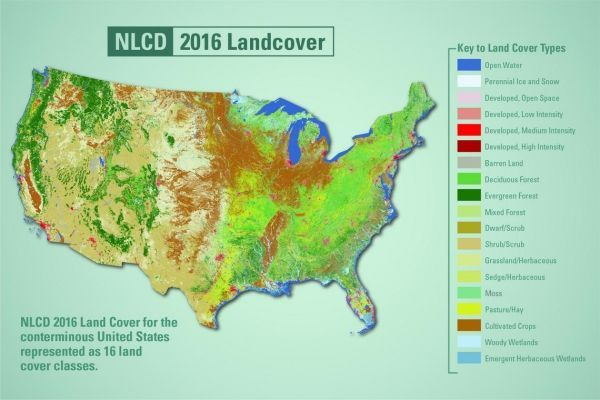 Environmental News Network - New Land Cover Maps Depict 15 Years of