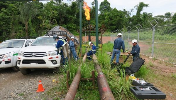Environmental News Network - Flaring in the Amazon